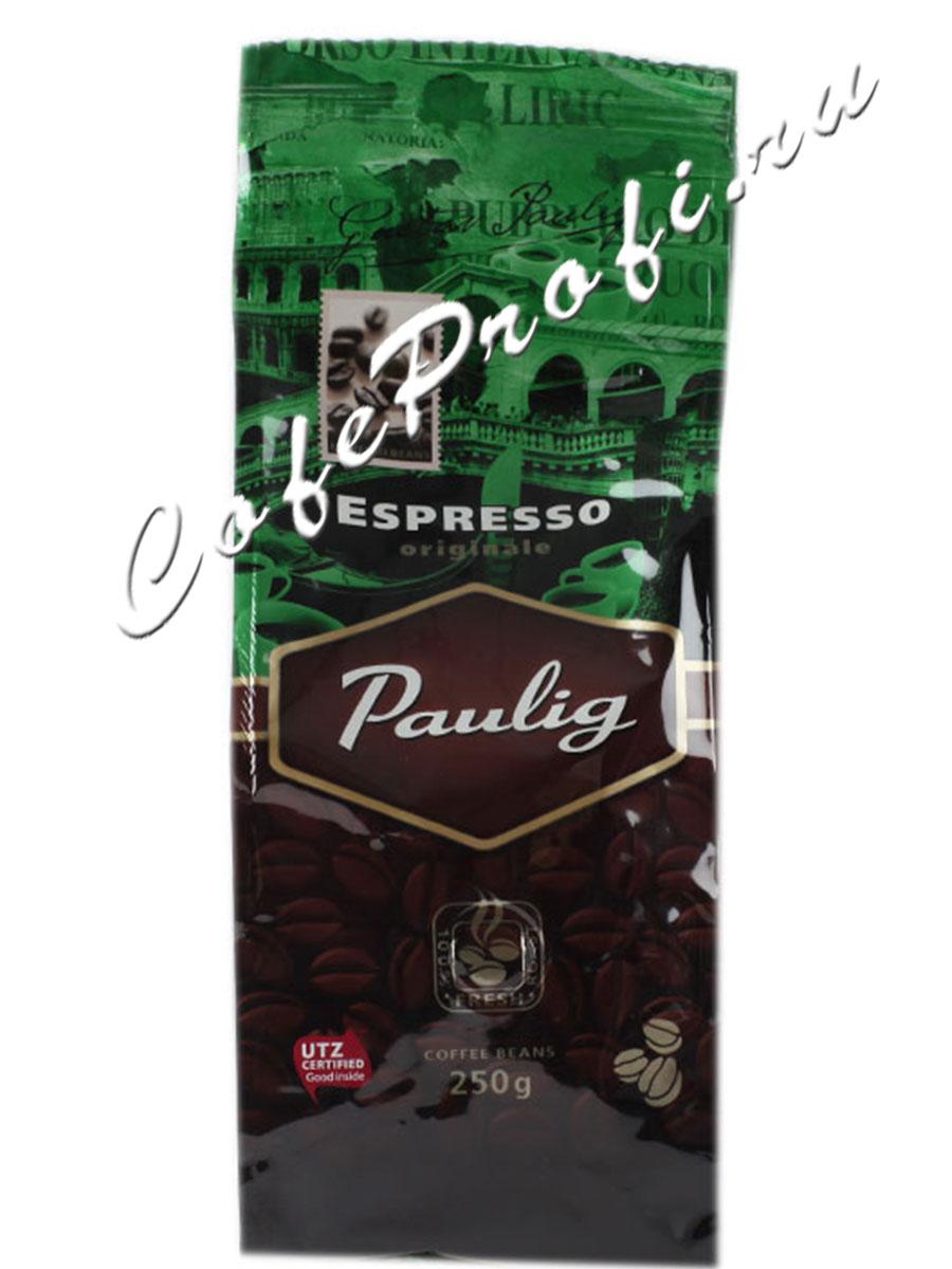Кофе Paulig (Паулиг) Espresso Originale в зёрнах 250 г