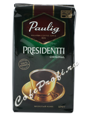 Кофе Paulig (Паулиг) Presidentti Original молотый 500 г