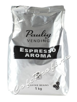 Кофе Paulig Vending Espresso Aroma в зернах 1 кг