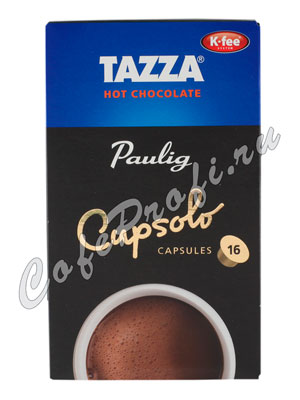 Paulig в капсулах Tazza Hot Chocolate