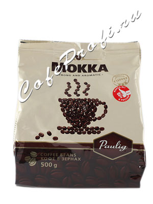 Кофе Paulig Mokka в зёрнах 500 г